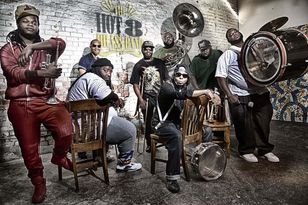 Kelburn Garden Party 2017 - Hot 8 Brass Band