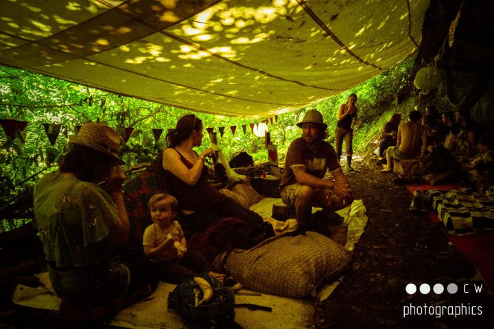 Kelburn Garden Party Tea Cave