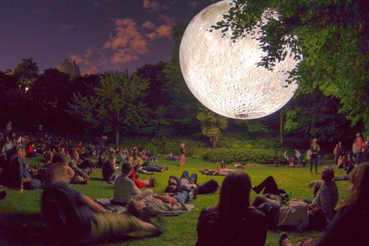 Kelburn Garden Party - Museum of The Moon