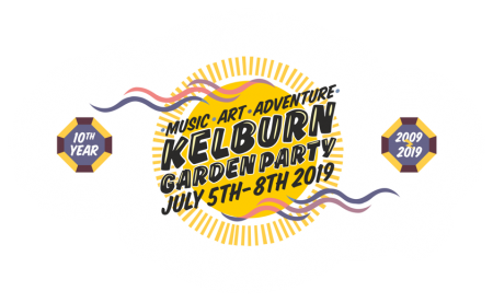 Kelburn Garden Party 2019 Logo
