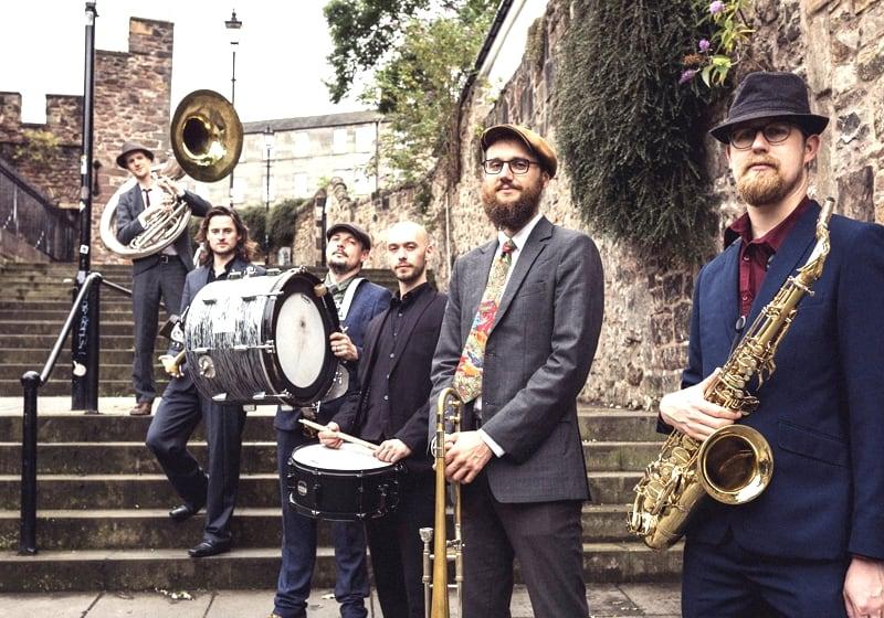 Kelburn Garden Party 2019 - Brass Gumbo Play The Beatles